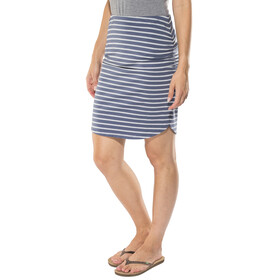 Patagonia W's Ribbon Falls Skirt Sentinel Stripe Small: Dolomite Blue
